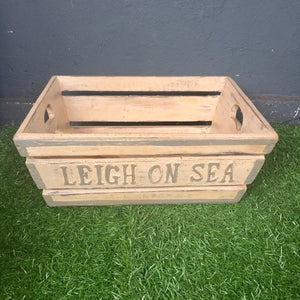 Leigh-On-Sea Boxes | Light Grey storage wooden boxes home decor style accessories