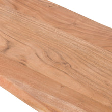 Live Edge Collection Bench TOP VIEW