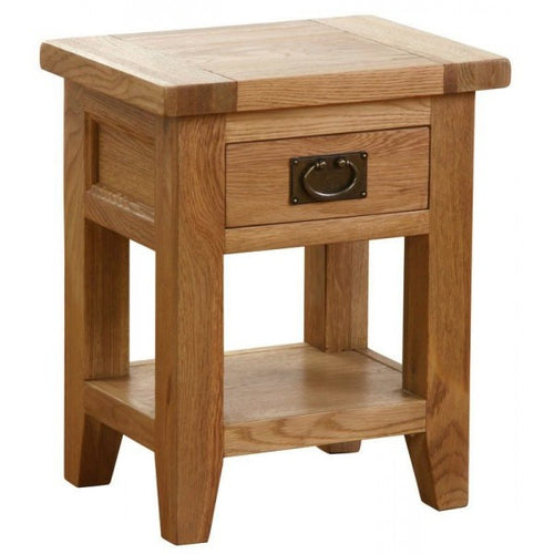 Vancouver Petite Lamp Table | 1 Drawer affordable home furniture shop
