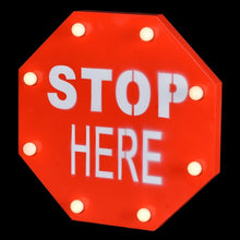 Led Stop Sign | Red
