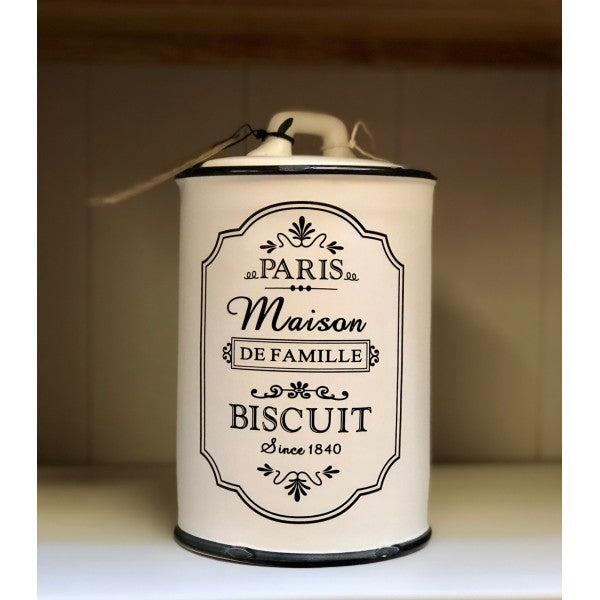 Parisienne Biscuit Canister