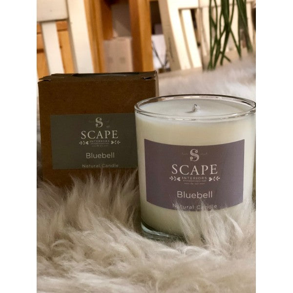Scape Interiors Natural Organic Candle | Blue Bell