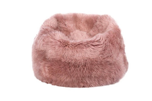 Luxury Long Hair Sheepskin Beanbags Floor Cushion, Living Room, Home Furnishings