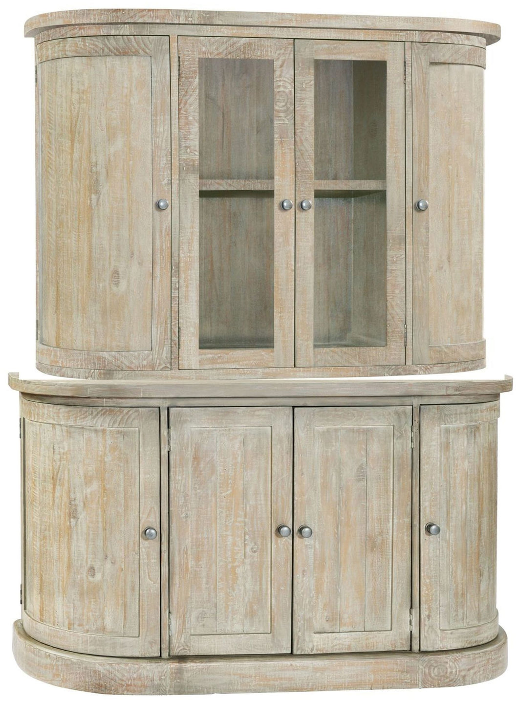 Bowood Dresser with Glass Doors | Large