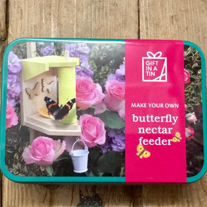Make Your Own Butterfly Nectar Feeder in a Tin