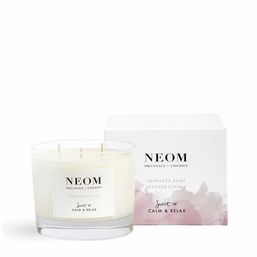 Complete Bliss Scented Candle | Three Wicks Neom Limited