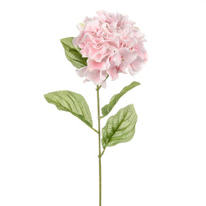 Dawn Hydrangea Pink Silk Faux Artificial flower home decor and design