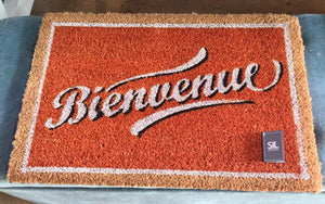 Retro Slogan Doormat