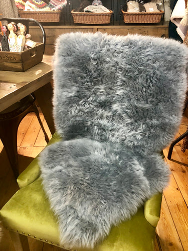 Sheepskin Long Wool Light Grey