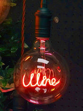 Red LED Filament Wine Bulb | Signage Lighting
