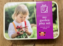 My Garden Play Set in a Tin Gifts in a tin for kids toys outdoor