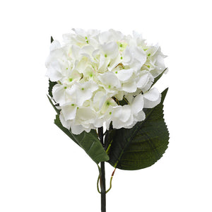Artificial Extra Large Cream Hydrangea Flowers