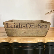 Wooden Leigh-On-Sea Box | Storage