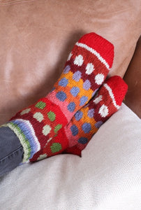 Patagonia Sofa Socks Bright
