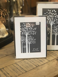 Silver Photo Frames  Gifts Home decor style accessories For Her