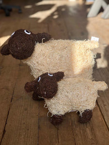 two partner Rattan Sheep