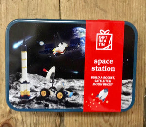 Space Station In A Tin toys for boys gifts in a tin for kids home furniture shop