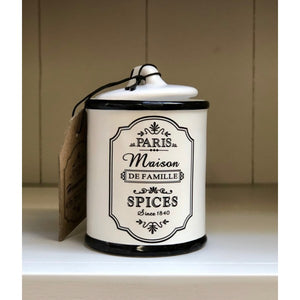 Parisienne Spice Canister tableware gifts kitchen accessories
