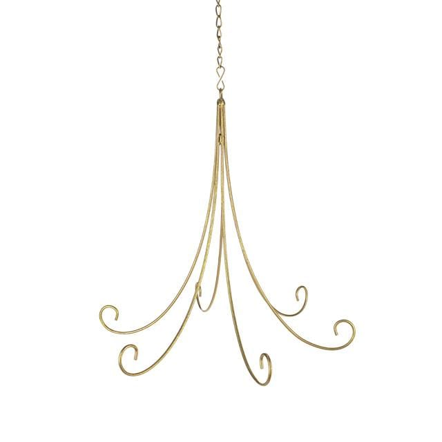 Wire Hanging Display Gold | Decoration