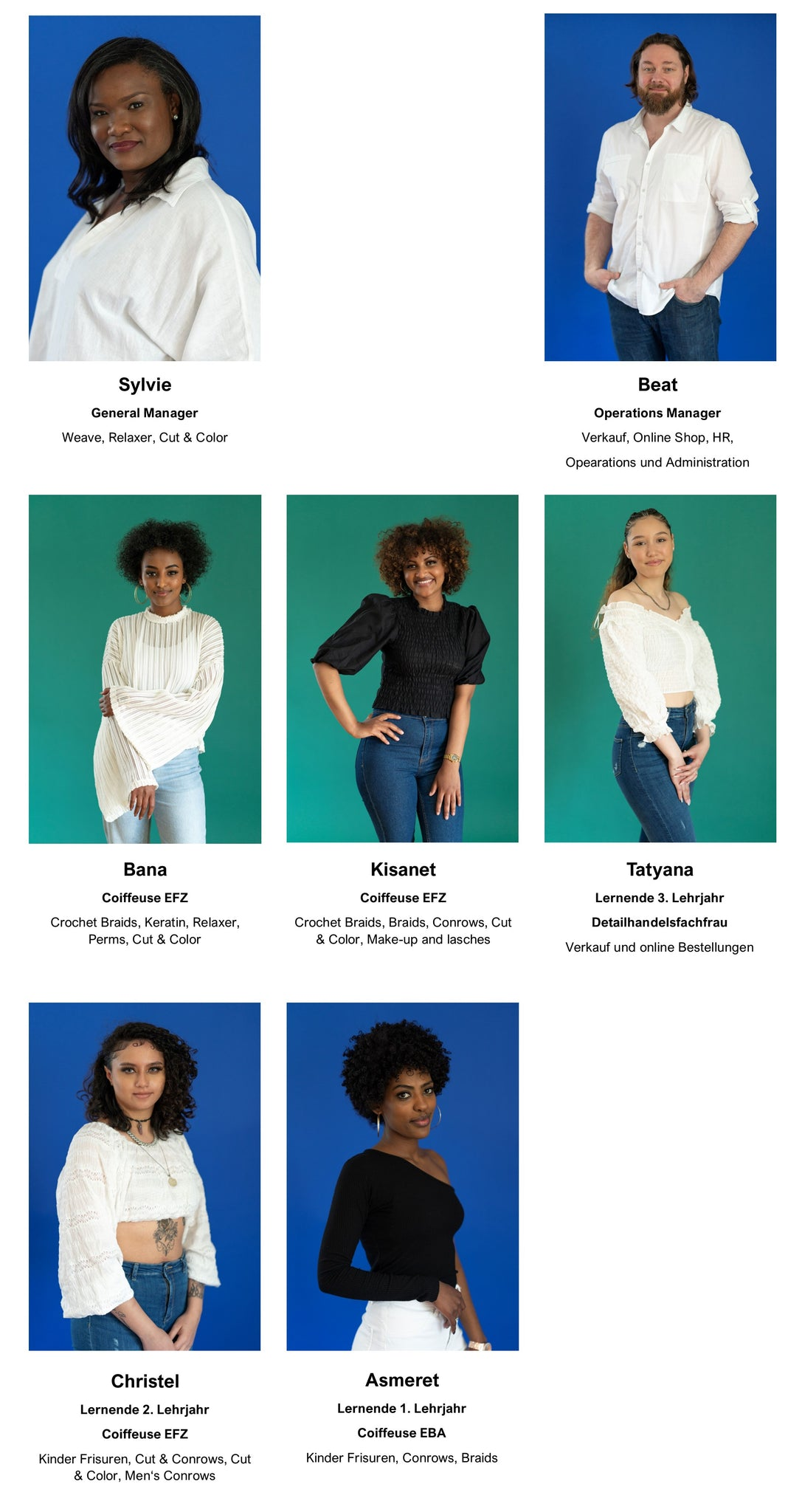 Forester Beauty Team Roster