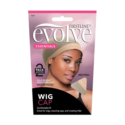Firstline® Evolve® Wig Cap 2Pack Neutral