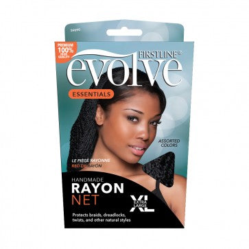 Evolve® Rayon Net Black