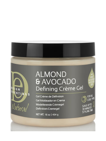 Design Essentials Almond & Avocado Curl Defining Creme Gel