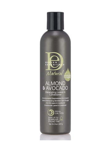Design Essentials Almond & Avocado Detangling Leave-In Conditioner 8oz