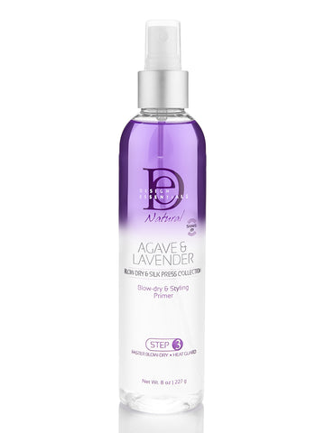 Design Essentials Agave & Lavender Moisturizing Blow-Dry & Style Primer