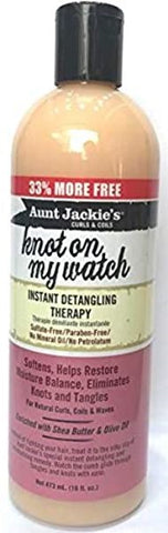Aunt Jackie's Knot on my Watch instant detangling Therapy