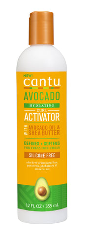 Cantu Avocado Hydrating Curl Activator Cream