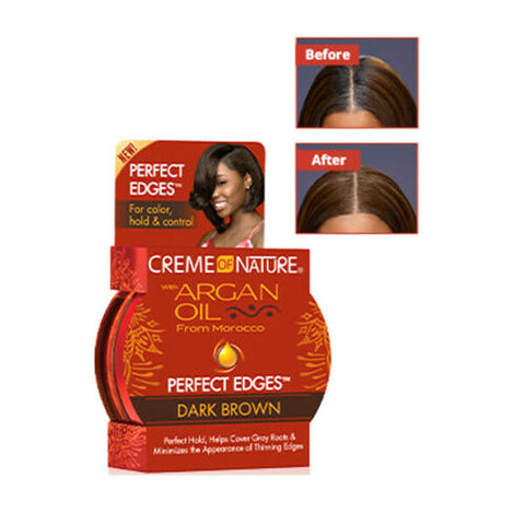 Creme Of Nature Argan Oil Perfect Edges Brown