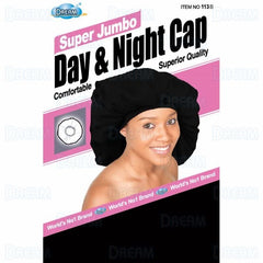 DREAM WOMENS SATIN DAY & NIGHT CAP JUMBO