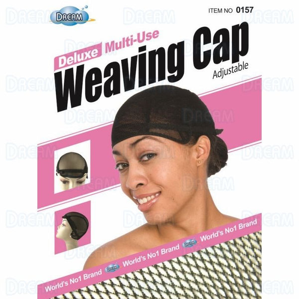 DREAM WOMENS WEAVING CAP ADJUSTABLE Black