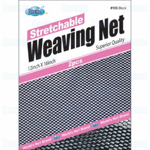 DREAM WOMENS WEAVING NET STRETCHABLE Black