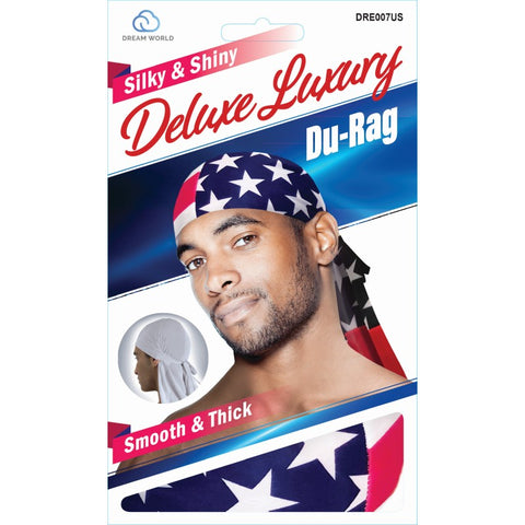 Dream Deluxe Luxury Du-Rag US Flag