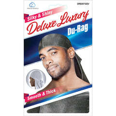 Dream Silky & Shiny Deluxe Luxury Du-Rag Glitter Silver