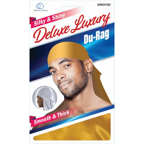 Dream Silky & Shiny Deluxe Luxury Du-Rag Gold