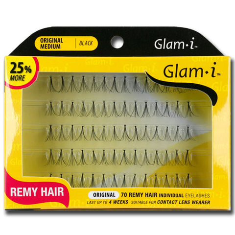 Glam-i 70 Individual Lashes Remy Hair