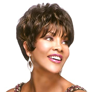 Vivica Fox Human Hair  Stretch Cap HUMAN HAIR Wig H205-V