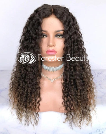Indian Virgin Human Hair Front Lace Wig S1