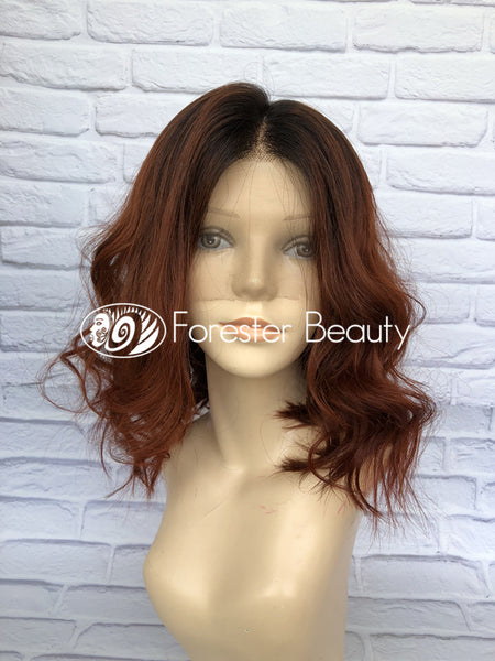 Brazilian Human Hair Front Lace Wig SP02