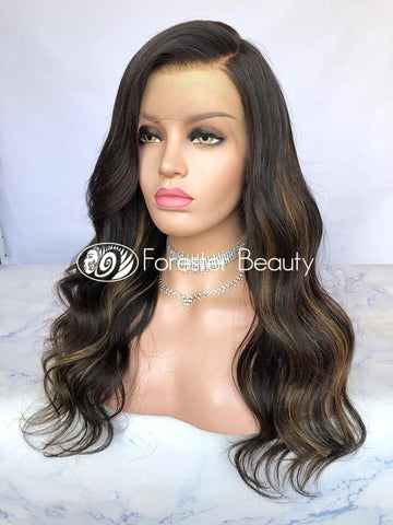 Brazilian Human Hair Front Lace Wig SP51