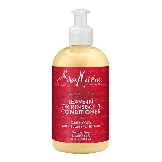 SheaMoisture Red Palm Oil & Cocoa Butter Rinse Out or Leave In Conditioner