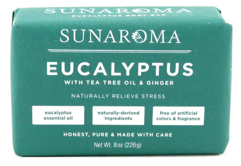 Sunaroma Eucalyptus, Tea Tree Soap