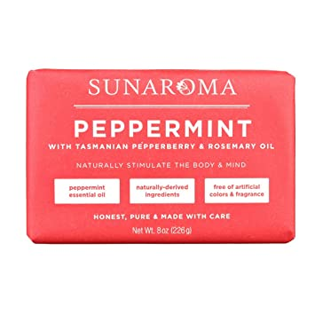 Sunaroma Peppermint Rosemary Soap