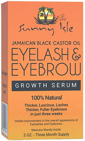 Eyelash eyebrow growth serum