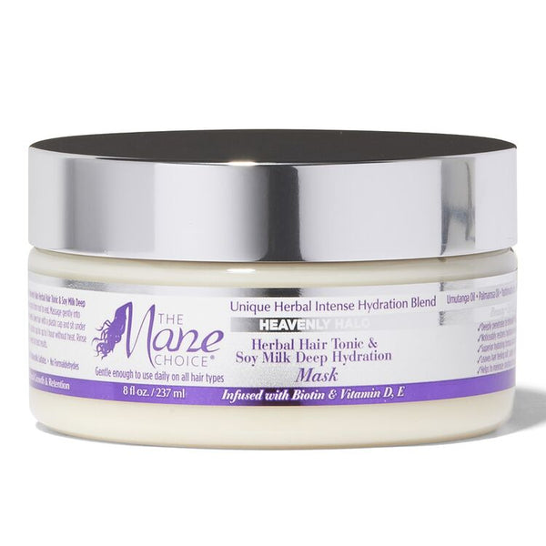 The Mane Choice Heavenly Halo Herbal Hair Tonic & Soy Milk Deep Hydration Mask
