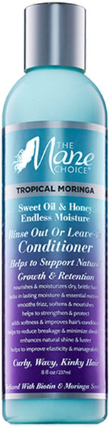 The Mane Choice Tropical Moringa Sweet Oil & Honey Endless Moisture Rinse Out or Leave-In Conditioner