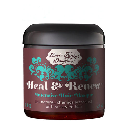 UFD HEAL & RENEW INTENSIVE HAIR MASQUE 8Oz.